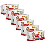 Luvlap Paraben Free Baby Wet Wipes With Aloe Vera - 6 Packs (432 Wipes + 48 Wipes Free)