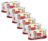#4: Luvlap Paraben Free Baby Wet Wipes with Aloe Vera - 6 packs (432 Wipes + 48 Wipes Free)