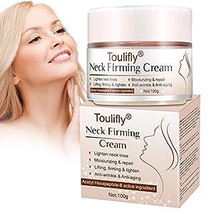Crema para el Cuello, Cuello Arrugas Crema Cuello Crema Reafirmante Esencia Reafirmante Reparación Arrugas…
