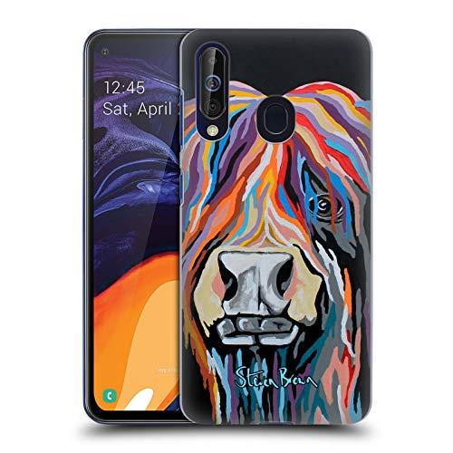 Head Case Designs Offizielle Steven Brown Ally Mccoo Hochland Kuh Sammlung 1 Harte Rueckseiten Huelle kompatibel mit Samsung Galaxy A60 (2019) - Brown Ally
