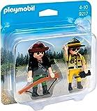 Playmobil Duo Pack-9217 Ranger y Cazador Furtivo,, única (9217)