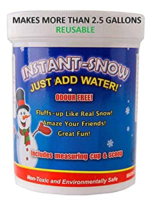 125g Instant Snow Powder - Instant Magic Snow Fake Party Decoration by Playlearn by Playlearn de Playlearn