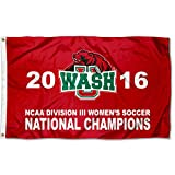 Washington St. Louis Bears 2016 Division III Damen Soccer Champions Flagge
