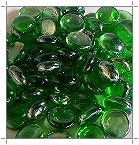 rund Glas Pebbles/Steine/Gems/Nuggets/Beads ca. 17–20mm ()