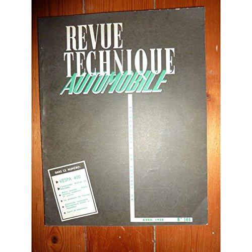 Rta-revue Techniques Automobiles - Vespa 400 Revue Technique