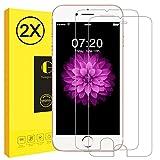 Schutzfolie für iPhone 7 Plus iPhone 8 Plus, Vkaiy 2 Stück iPhone 7 8 Plus Panzerglas, 9H Härte, 3D Touch Kompatibel