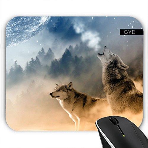Mousepad - Wolf Tier Wildtier Niedlich by Grab My ()