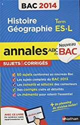 ANNALES BAC 2014 HISTOIRE/GEO