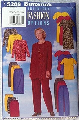 WOMANS JACKET, DRESS, TUNIC, SKIRT & PANTS SIZE 22W-24W-26W FAST