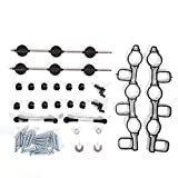 Saugrohrklappe Reparatursatz für 2.7 3.0 TDI V6 Au di A4 A5 A6 Por sche Cayenne DE
