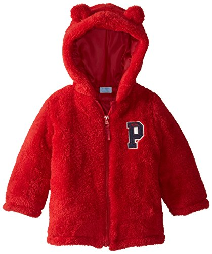 us-polo-association-baby-boys-baby-faux-fur-shell-jacket-with-hoodie-red-24-months