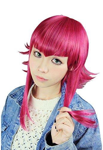 nie Cosplay Perücke Wig Rose Rot Haar Accessories für Mädchen (Kostüme Für Annie)