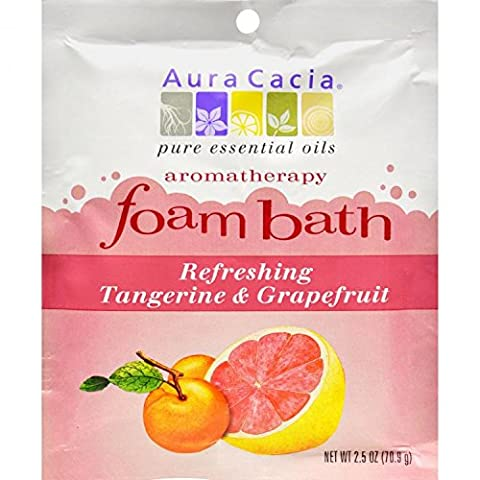 Foam Bath Refeshing Tangerine and Grapefruit - 2.5 oz - Case of 6