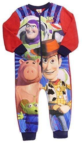 Jungen Toy Story Buzz Woody und Hamm Alles in eins Schlafanzug Pyjama Sublimated Fleece - Buzz Woody Hamm, 104 (Toy Story-pyjama Für Jungen)