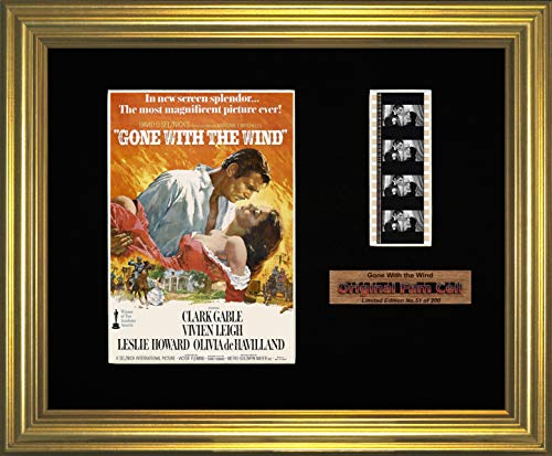 Gone with the Wind Gerahmtes Bild mit Filmstreifen (Gone With The Wind Bilder)