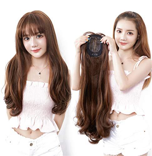 Sourcingmap Décoration de cheveux synthétiques avec frange 60 cm