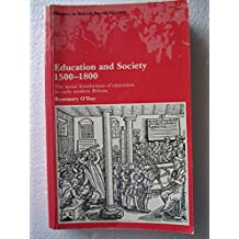 Education and Society, 1500-1800: Social Foundations of Education in Early Modern Britain (Themes in British Social History)