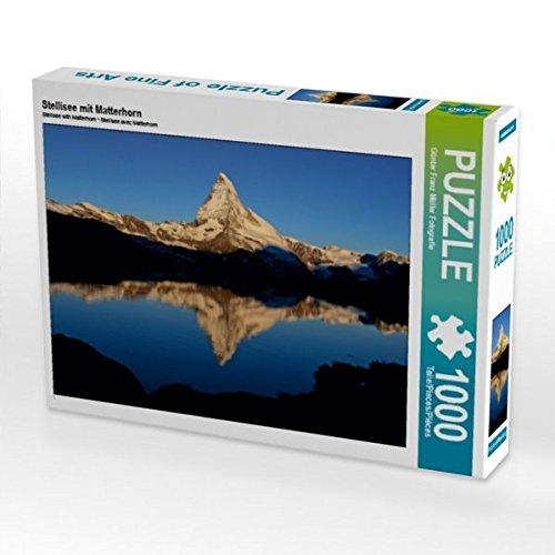 Preisvergleich Produktbild Stellisee mit Matterhorn 1000 Teile Puzzle quer