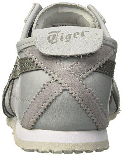 Onistuka Tiger Mexico 66 Unisex-Erwachsene Sneakers Grau (Midgrey/agave Green)