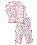 SPRING BUNNY - Soft Cotton Butterfly Printed Girls Pyjama Set (1 yr)