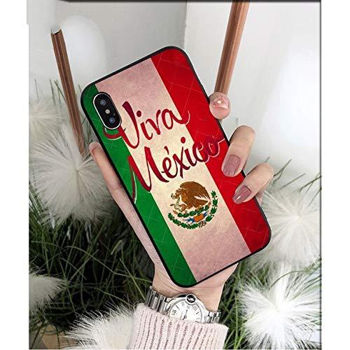 XiYon mexiko Flagge DIY high-end Schutz Fall für Apple iPhone 8 7 6 6 s Plus x xs max 5 5 s se xr handys, 2, für iPhone xr