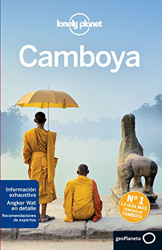 Lonely Planet Travel Guide Camboya/ Cambodia por Nick Ray, Greg Bloom