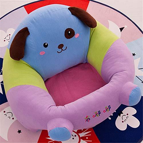 Yeying123 Coussin de bébé siège de Soutien en Peluche bébé Doux Sofa Nourrisson bébé apprenant à siéger Chaise siège Dinant Chaise Coussin,Dog,L