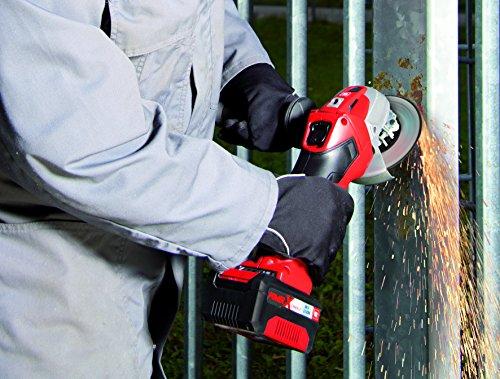 Einhell Akku Winkelschleifer TE-AG 18 Li Solo Power X-Change (Lithium Ionen, 18 V, Scheiben-Ø 115 mm, Softstart, Schutzhaube, ohne Akku und Ladegerät) - 4