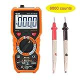 Digital Multimeter, Dr.meter PM18 Advanced Multimeter mit 6000 Counts, Messgerät AC-Spannungsprüfer Tragbarer Amp/Ohm / Volt-Test Meter Multi Tester w/Diode und Durchgangsprüfungs-Scanner (6000)