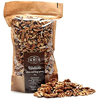 Igmis Walnut Kernel Halves and Pieces - 750 Gram - Directly from the Farm