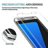 Samsung Galaxy S7 edge Panzerglas Schutzfolie, Hootech [1 Stück] Displayschutzfolie für Samsung Galaxy S7 edge Panzerfolie Displayschutz Gehärtetem Glass 9H Härtegrad, Anti-Kratzen, Einfaches Anbringen - 4