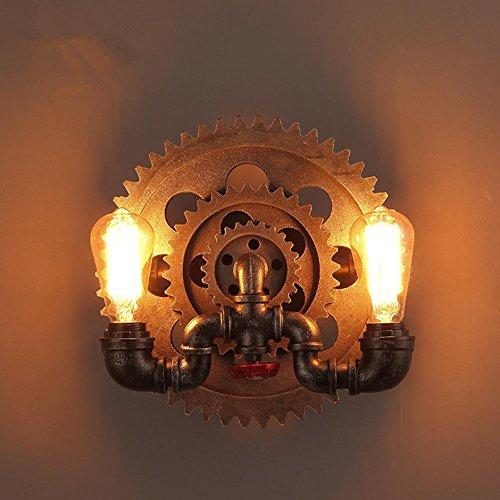 Nautische Outdoor-leuchten (Wandleuchte Wandlampe Vintage Industrial Gang Leuchten Outdoor Schmiedeeisen in Europa Nordwand lamg)