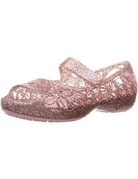 Crocs Isabella Glitter Flat PS BLSM, Ballerine Bambina