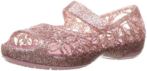crocs Mädchen Isbelagltrfltps Durchgängies Plateau Ballerinas, Pink (Blossom), 24-25 EU