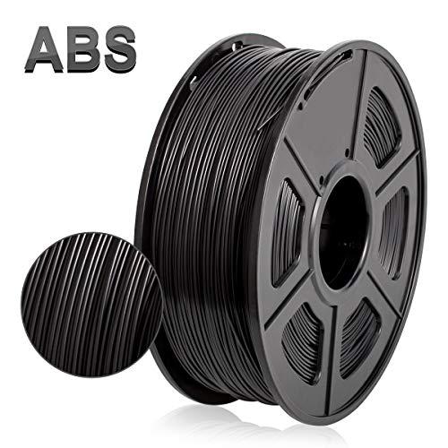 Filamento de impresora 3D ABS, filamento de ABS de 1.75 mm, 1...