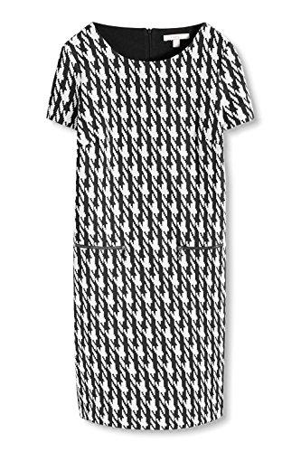 Esprit 076ee1e026, Robe Femme Multicolore (BLACK 001)