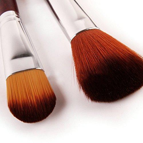 Cexin professionel 24 pinceaux maquillage exquis avec gousset pinceaux set