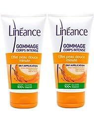 Linéance - Gommage Intense - 100% d'origine naturelle - peau tonifiée et lissée - 150ml - Lot de 2