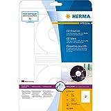 Herma 4849 InkjetCD-Etiketten (A4 116 mm Papier matt) 50 Stück weiß