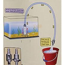 Edealing 1X Pro-Clean Lavadoras Grava y Kit de sifón para Acuario