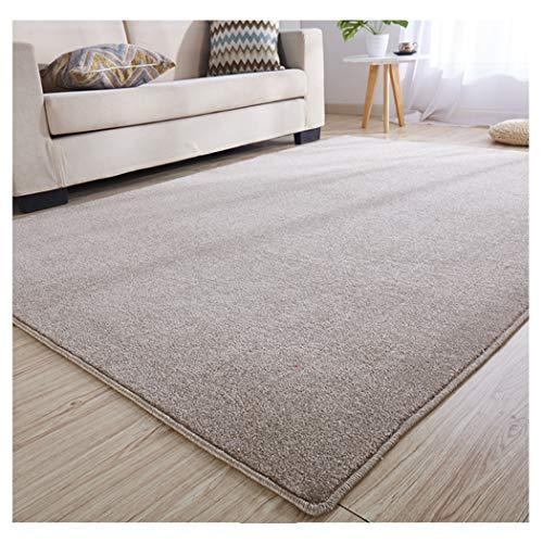 Teppich, weicher flauschiger Teppich, für Wohnzimmer, Schlafzimmer, Nachttisch, Kinderzimmer, rutschfest, Polypropylen-Gewebe (Farbe: F, Größe: 0,7 x 1,4 m)