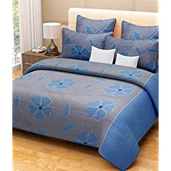 Home Designs cotton reversible doublebed Dohar/quilt cover-90x90
