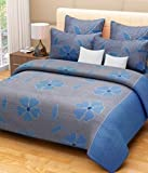 #5: Home Designs cotton reversible doublebed Dohar/quilt cover-90x90 with zip