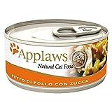Applaws Cat Huhn mit Kürbis Dose 156gr