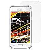 atFolix Folie für Samsung Galaxy J1 Ace Displayschutzfolie - 3 x FX-Antireflex-HD hochauflösende entspiegelnde Schutzfolie
