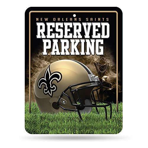 New Orleans Saints, 20,3 x 27,9 cm, Metall ()