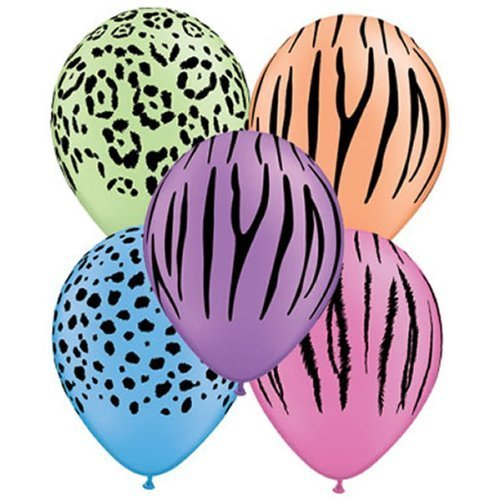 afari Animal Skin Party/Birthday Balloons - 11