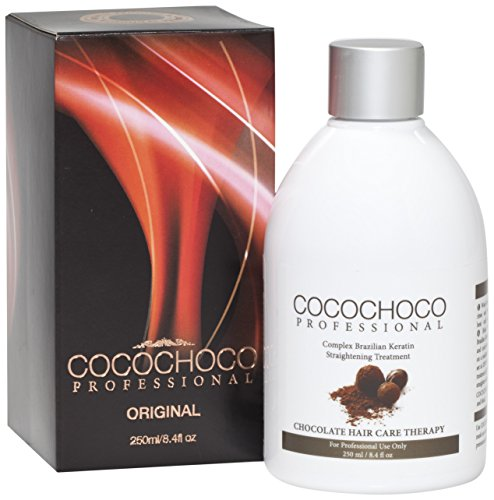 COCOCHOCO Professional brasilianisches Keratin Formaldehyd frei Hair Treatment, 250 ml