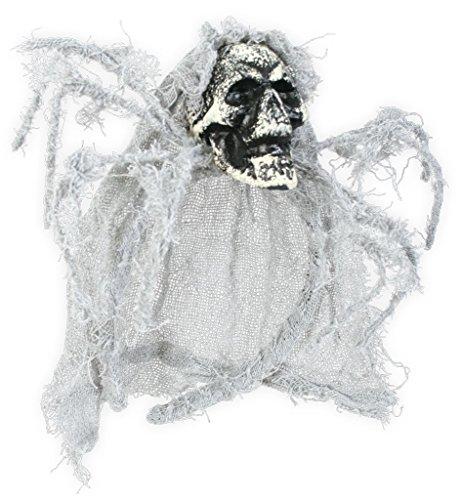 Halloween Haarreif, sortierte Motive, Halloween, Party, Accessoire, Karneval (Totenkopf)