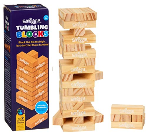 Smiggle Stack the blocks high Smiggle Tumbling Blocks play game from Maxm